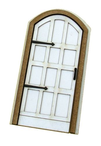1:24th Arched Tudor Door Kit