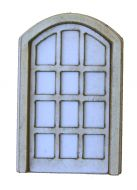 1:48th Arched Tudor door Kit
