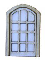1:48th Arched Tudor door Kit