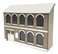 1/76th Brown & Son Warehouse (LOW RELIEF)