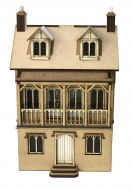 Butterwick House 1:48th - Part of Cobblestone Snicket