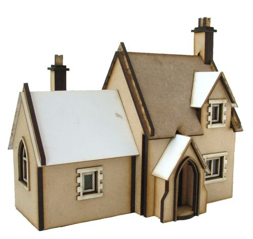 Cemetery Lodge Kit 1:48th - '360' Premier Collection