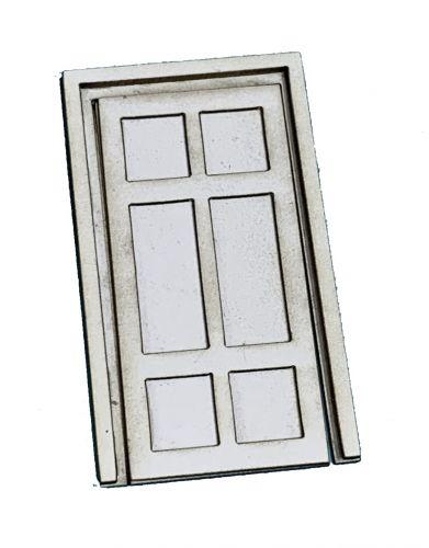 1:48th Classical Tall Door