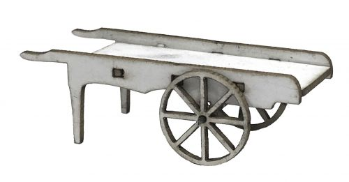 1:48th Coffin Cart Kit
