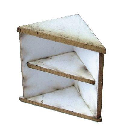 1:48th Corner Base Shelf Kit