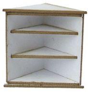 1/24th Corner Shelf Cabinet