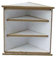 1:24th Corner Shelf Cabinet