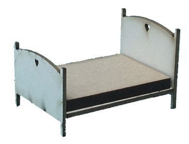 1:48th Double Cottage Bed