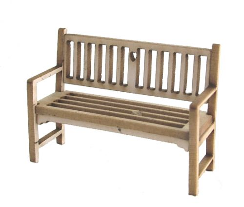1/48th Cottage Garden Bench Kit