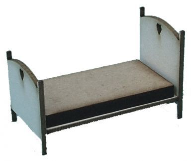 1:48th Single Cottage Bed