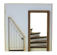 1:24th Cupboard Stairs Kit
