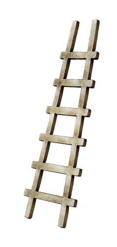 1/48th Rustic Ladder