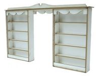1:48th Double Shop Shelf Kit