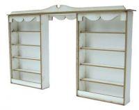 1/48th Double Shop Shelf Kit