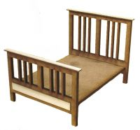 1/24th Edwardian Double Bed