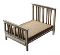 1/48th Edwardian Double Bed