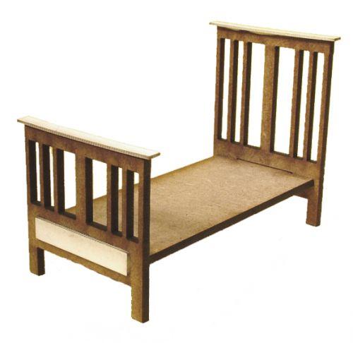 1:24th Edwardian Single Bed