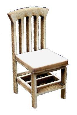 1:48th Pair of Farmhouse Chairs