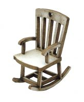 1:48th Farmhouse Rocking Chair