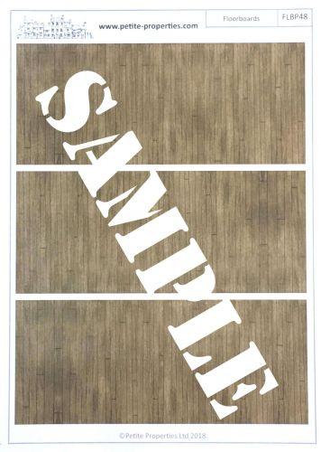 1:48th Floorboard Paper