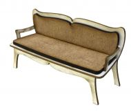 1:24th French Settee
