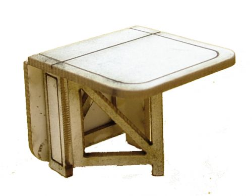 1:48th Gate Leg Table Kit