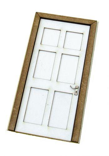 1/24th Georgian Door Kit