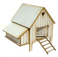 1:24th Hen House Kit
