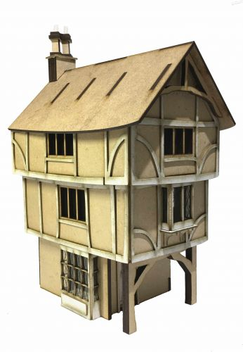 Honeymead House 1:48th - Part of Cobblestone Snicket