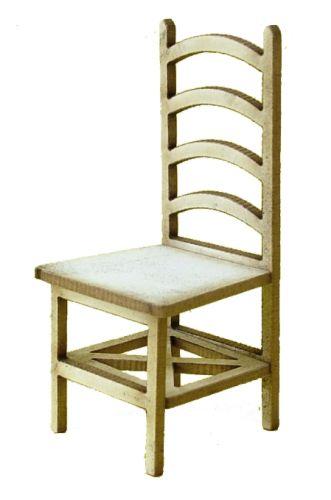 1:24th Ladder Back Chair