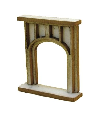1:48th Large Gothic Fire surround Kit