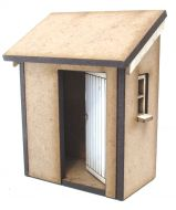 Lean To Loo Basic House Kit 1/48th
