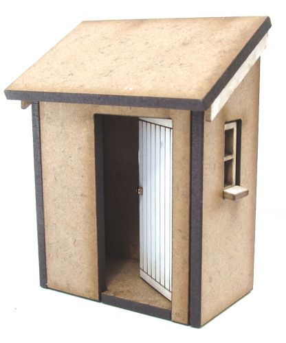 Lean To Loo Basic House Kit 1:48th