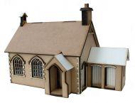 Little Acorns School House Kit 1:48th - '360' Premier Collection