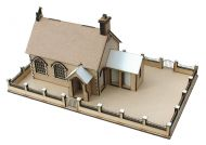 Little Acorns School House & Playground '360' Premier Collection 1/48th Scale Kit