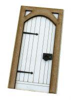 1:24th Medieval Door Kit
