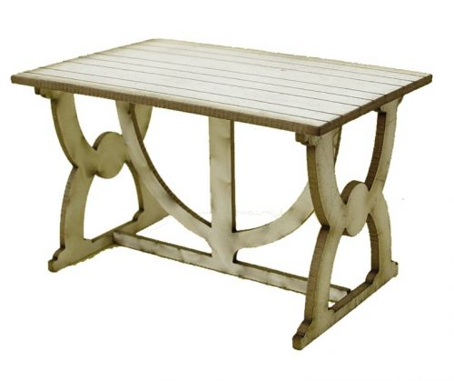 1:24th Medieval Table