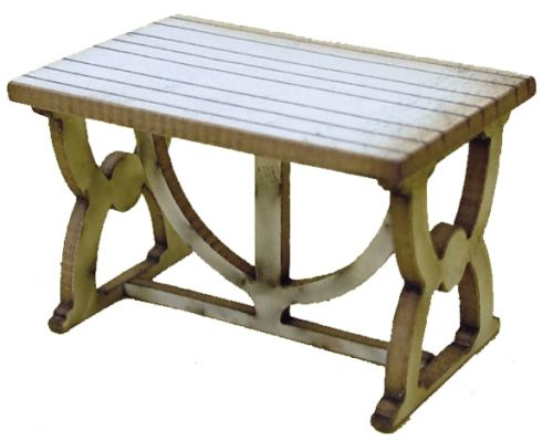 1:48th Medieval Table Kit