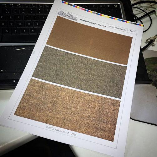 1/144th Micro Scale Brick Paper