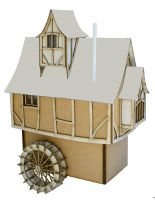 Mill Pond Cottage Kit 1:48th - Enchanted Cottages Collection