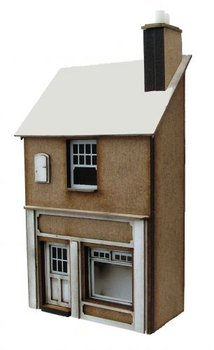 1/76th No 12 Station Road (LOW RELIEF)