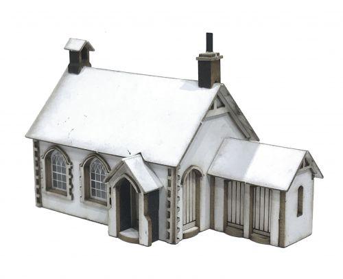 1/148th Little Acorns School House N Gauge