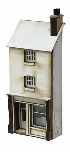 1/148th No 10 Station Road (Low Relief) N Gauge