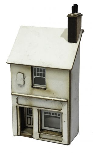 1/148th No12 Station Road (Low Relief) N Gauge