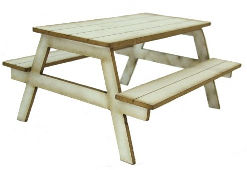 1/24th Picnic Table Kit