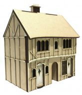 Plum Pudding Cottages 1:48th - Part of Cobblestone Snicket