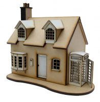 Post Office Cottage Kit 1:48th