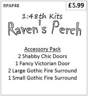 Raven's Perch Accessory Pack 1/48th