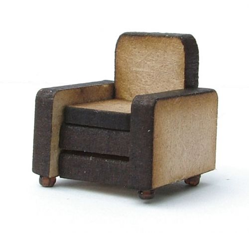 1/48th Retro Arm Chair