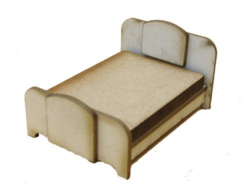 1:48th Retro Double Bed Kit